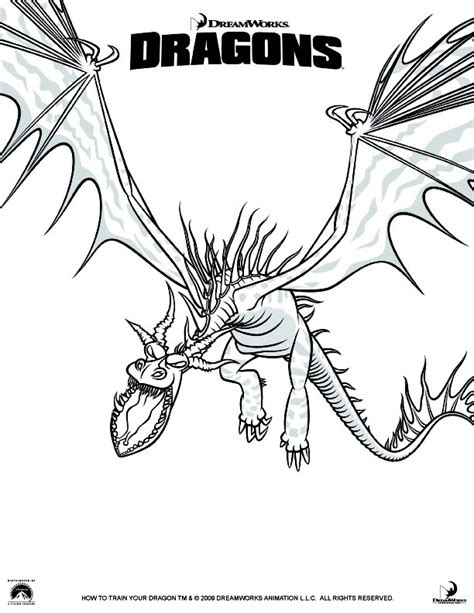 how to your coloring coloriage dragons 1