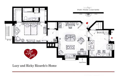 Tv Houses Floor Plans | floor plans of homes from famous tv shows