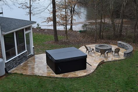 Patio Design Tub Pit Mooresville Nc 3 Seasons Room Patio Pit Lake