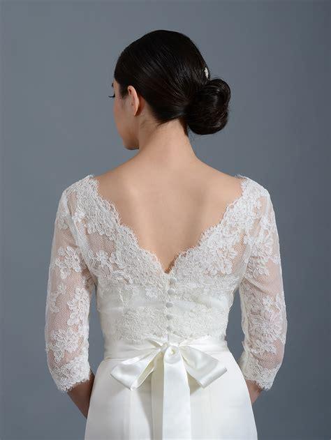 Wedding Jackets by Lace Bolero Wedding Jacket Wj004