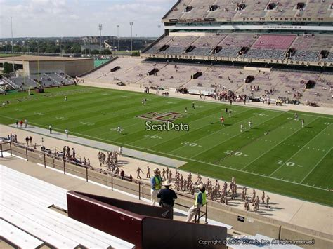 kyle field student section kyle field section 230 rateyourseats com
