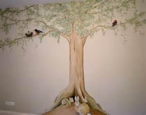 nature themed nurseries muralist debbie cerone ideas about tree wall murals on pinterest wall murals wall murals
