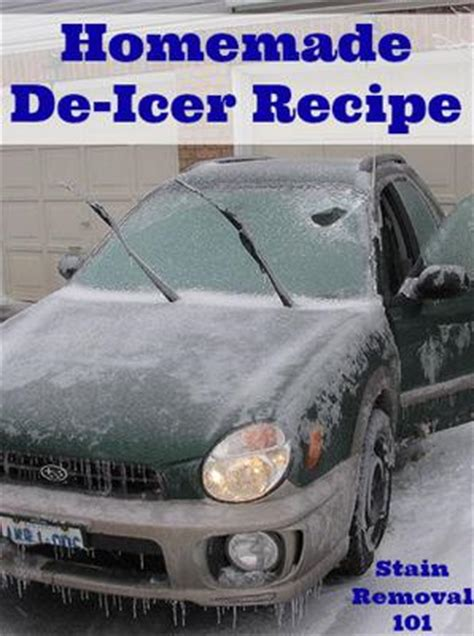 deicer how to make deicer