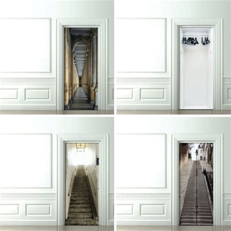 trompe l oeil wallpaper expect the unexpected in life trompe l oeil door wallpaper