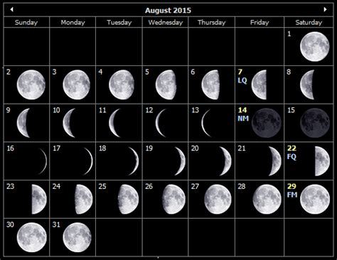 moon phases 2015 calendar august 2015 moon phases search results calendar 2015