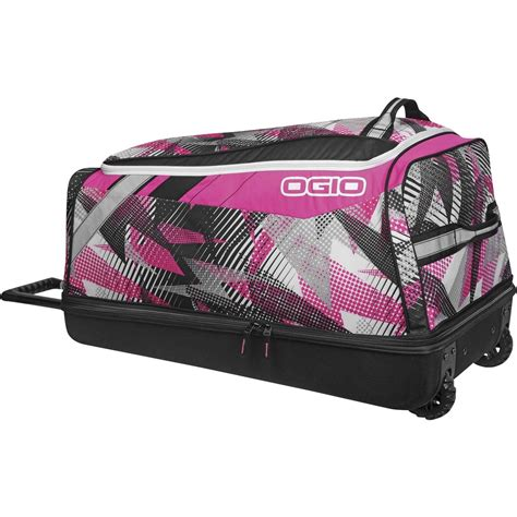 pink motocross gear bag ogio new mx shock bolt pink motocross gearbag luggage