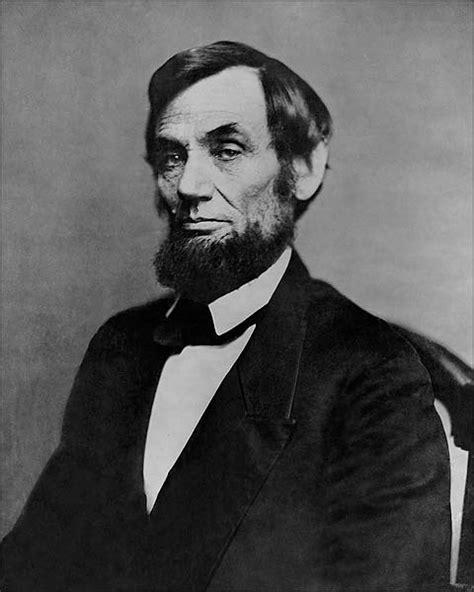 President Abraham Lincoln 1862 Portrait Mathew Brady Photo
