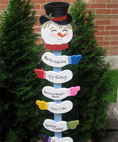 christmas staked fences best of etsy snowman decor