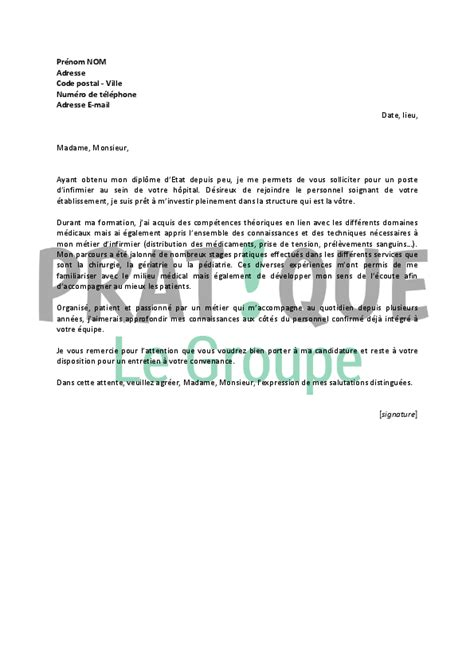 Lettre De Motivation De Emploi Application Letter Sle June 2016