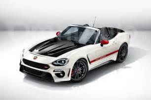 124 Spider Abarth Abarth Will Inject The Fiat 124 Spider With 200 Hp And