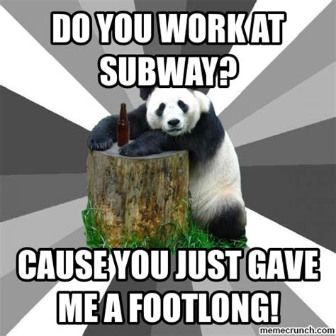Pickup Line Meme - pick up line panda www imgkid com the image kid has it