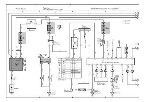 toyota avalon light wiring schematic 36 wiring diagram