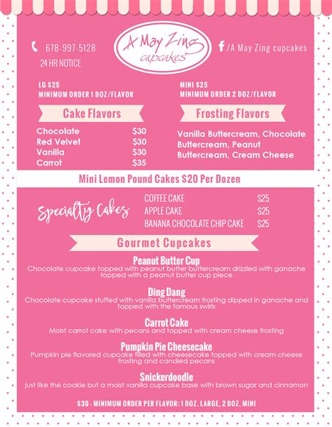 cupcake menu template custom label design label design hang tag design soap