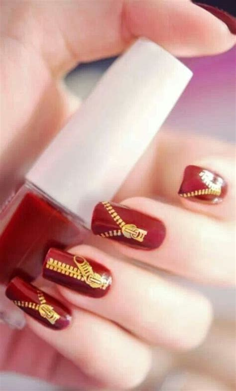 nail art tutorial funky blue zipper 44 best images about zipper nail art on pinterest