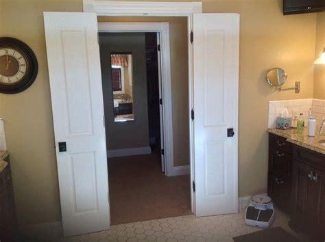 narrow doors master bath