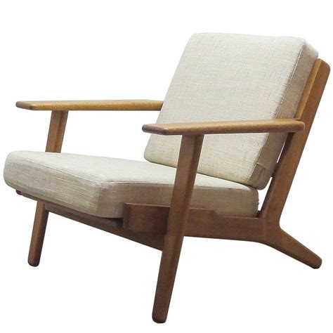 Hans Wegner by Hans J Wegner Ge 290 Lounge Chair At 1stdibs