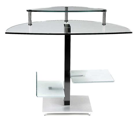 Modern Glass Desks For Home Office Modern Computer Desks Modern Glass Desks