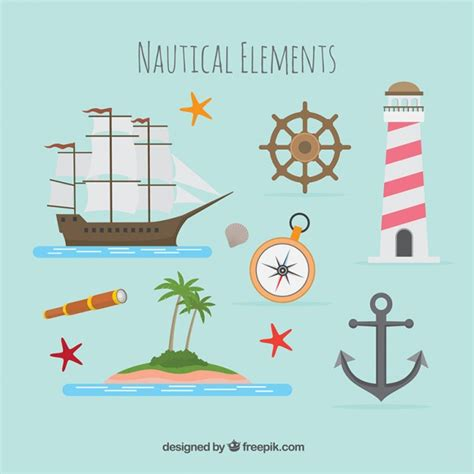 how to use a compass on a boat nautical boat and compass vector free download