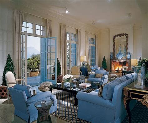 billy baldwin interiors annie s color crush french blue fresh american style