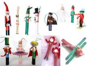 craft a christmas candy wrap jester from a clothespin