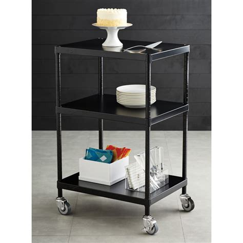 Intermetro Shelf by Intermetro Solid Shelf Serving Cart The Container Store