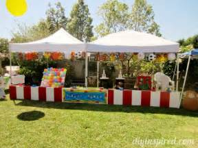 Diy Carnival Themed Decorations - 14 awesome diy kid birthday party themes first birthday party themes