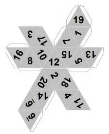 How To Make A Paper Die - dicecollector s paper dice templates