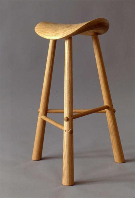 Three Legged C Stool by Three Legged Stool White Ash Furniture By Design