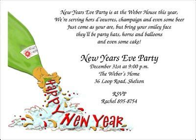 new years invite wording invitations and stationery on
