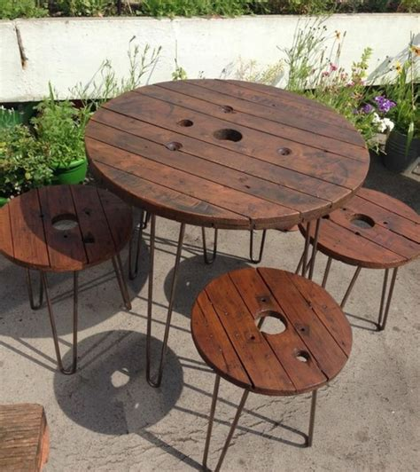table basse bois touret wraste