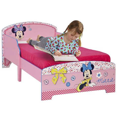 toddler minnie mouse bed minnie mouse mdf toddler bed new official childrens