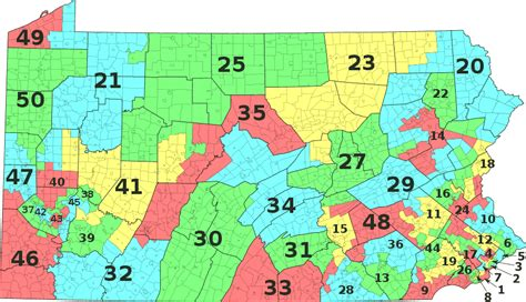 state senate district map nebraska senate district map