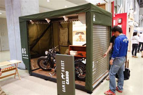 cobertizo para bicicletas キャメルガレージ garage pinterest organizadores