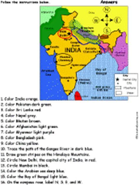 middle east map enchanted learning asia enchantedlearning