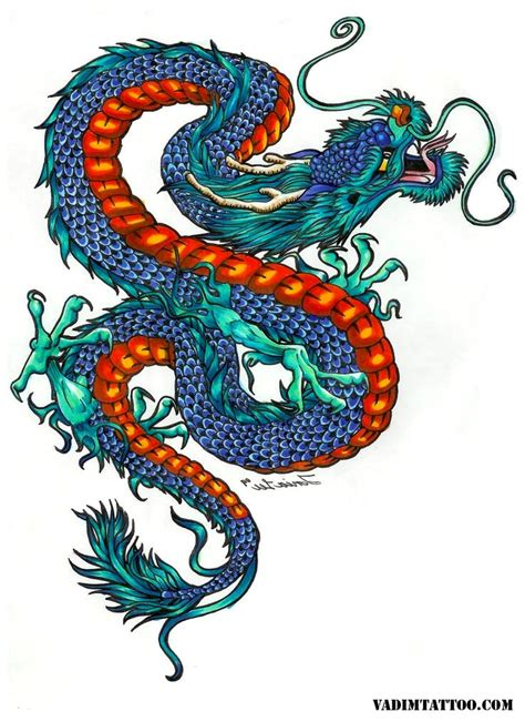 asian dragon tattoo 45 designs and meanings