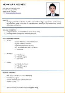 Cv English Example Australia Sample Customer Service