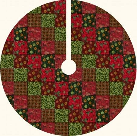 Patchwork Tree Skirt Pattern - 20 free quilted tree skirt patterns guide patterns