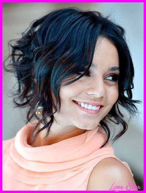 a line bob hairstyles pictures with curly hair short bob haircuts curly livesstar com