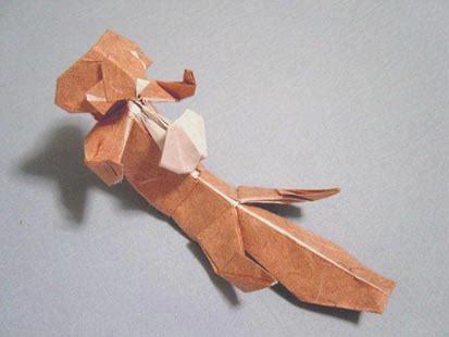 Otter Origami - sea otter