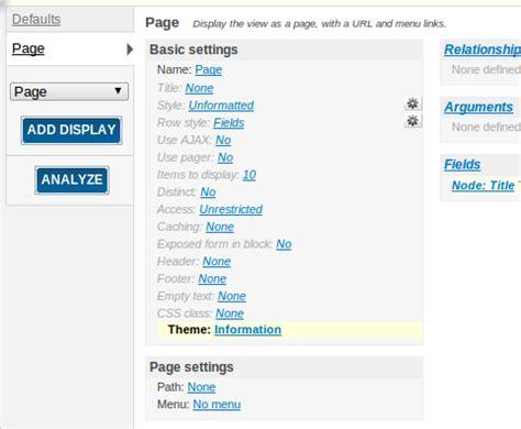 drupal admin template drupal 6 views templates code