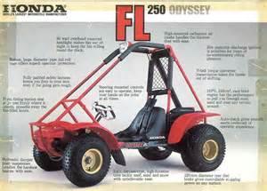 Honda Odyssey Fl250 Honda Atc Atv 3 Wheeler Trx Fl Odyssey Pilot Nos