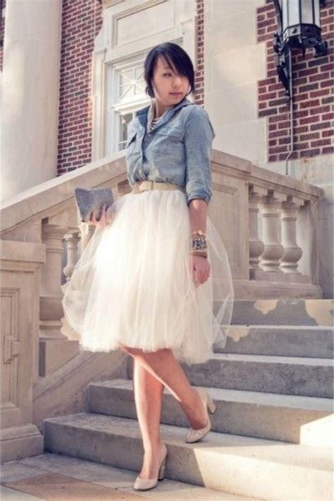 custom made womens tulle tutu skirt ivory by