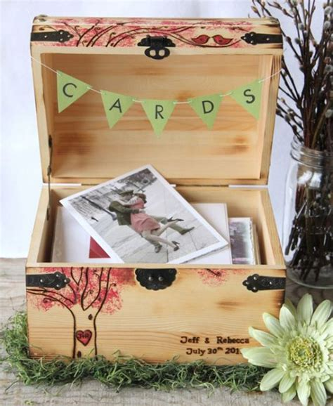 Wedding Card Chest by 11 Unique Wedding Card Box Ideas