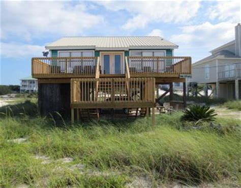 Gulf State Park Cabin Rentals by Fish House Gulf Front Cottage Vacation Rental In