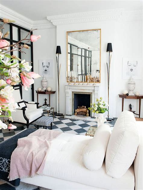 white tiles living room 10 dreamy rooms with black white tiles you will instantly daily decor