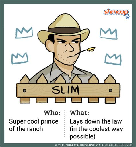 Of Mice And Slim Essay by Slim In Of Mice And