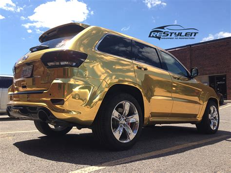 gold jeep gold chrome jeep grand srt8 vehicle