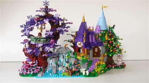 Lego Elves by Lego Elves Waterfall Castle Tree Lego And