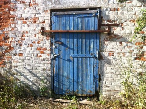 Blue Barn Doors Blue Barn Door Blue
