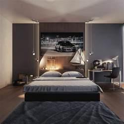 Merveilleux Amenager Une Chambre D Ado #2: 0-chambre-d-ado-gar%C3%A7on-beige-marron-fonc%C3%A9-lit-deux-places-chambre-ado-gar%C3%A7on.jpg